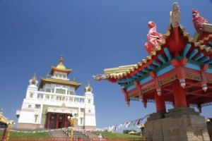 Kalmykia temple Russia
